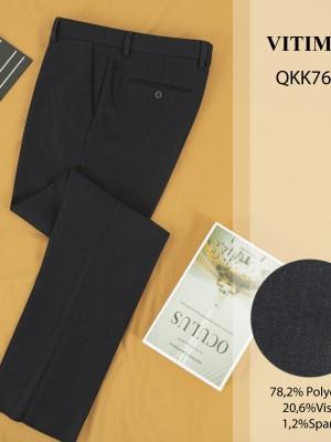 QKK7681 Quần Âu dáng Regular