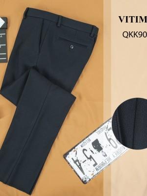 QKK9038 Quần Âu dáng Regular